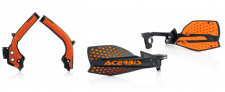 Acerbis Frame Cover X-Grip ORG SX SXF 125 250 16-18 X Ultimate HandGuards BLK/OR